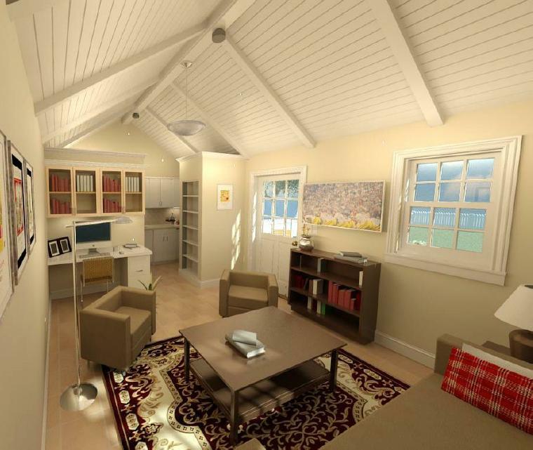 Fernside ADU Living Space