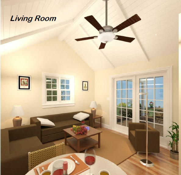 Alameda Tiny Homes ADU Design Permit Build Living Room